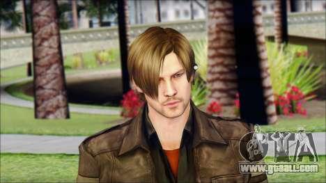 Leon Kennedy from Resident Evil 6 v4 for GTA San Andreas third screenshot
