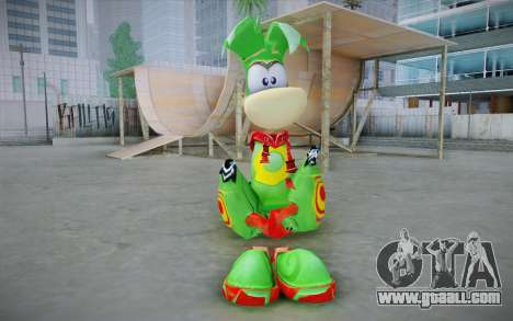 Vortex Rayman Skin for GTA San Andreas