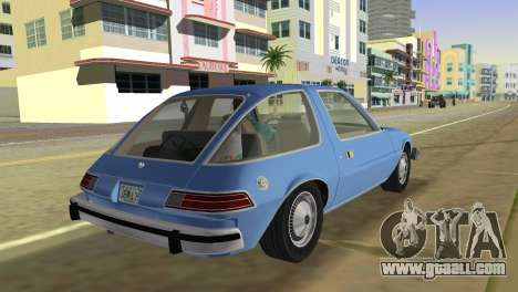 AMC Pacer DL 1978 for GTA Vice City left view