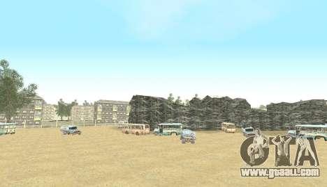 Russian Map 0.5 for GTA San Andreas ninth screenshot