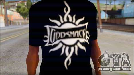 Godsmack T-Shirt for GTA San Andreas second screenshot