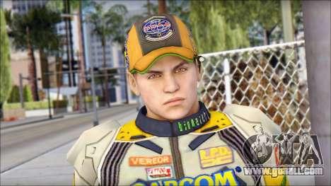 Piers Amarillo Gorra for GTA San Andreas third screenshot