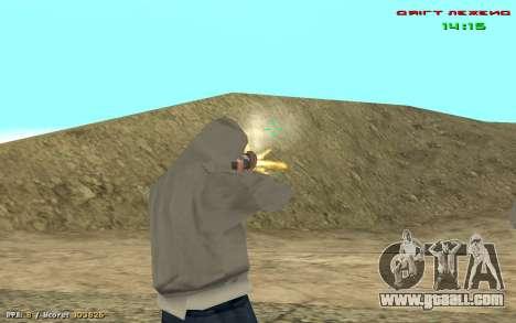 Cheat sight for GTA San Andreas forth screenshot
