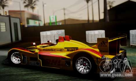 Porsche RS Spyder Evo 2008 for GTA San Andreas back left view