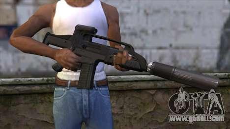 XM8 Compact Black for GTA San Andreas third screenshot