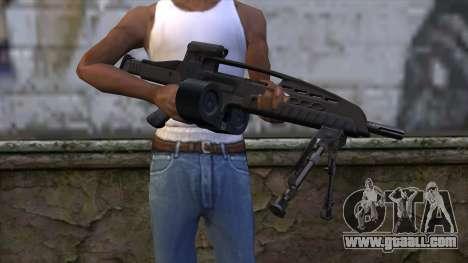 XM8 LMG Black for GTA San Andreas third screenshot