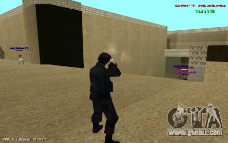 Cheat sight for GTA San Andreas