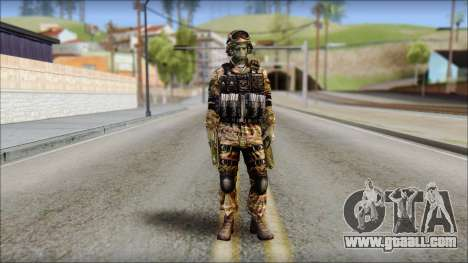 Forest GRU from Soldier Front 2 for GTA San Andreas