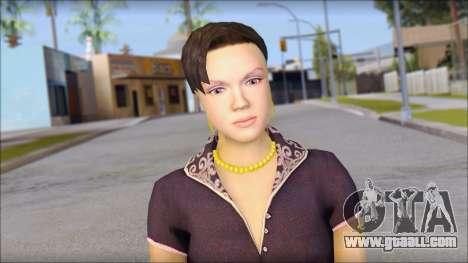 Young Woman for GTA San Andreas third screenshot