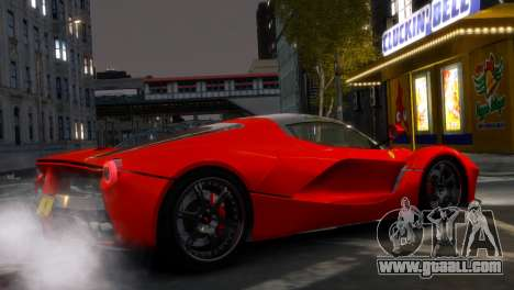 Ferrari LaFerrari WheelsandMore Edition for GTA 4 left view