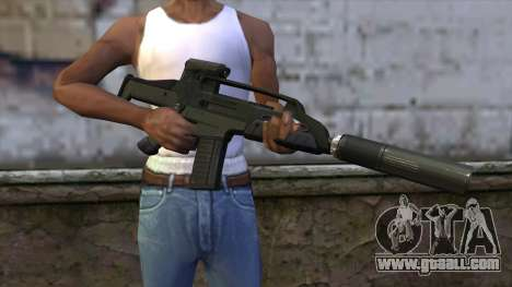 XM8 Compact Green for GTA San Andreas third screenshot