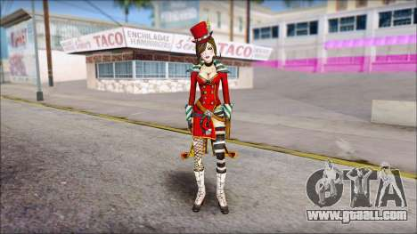 Moxxi from Borderlands for GTA San Andreas