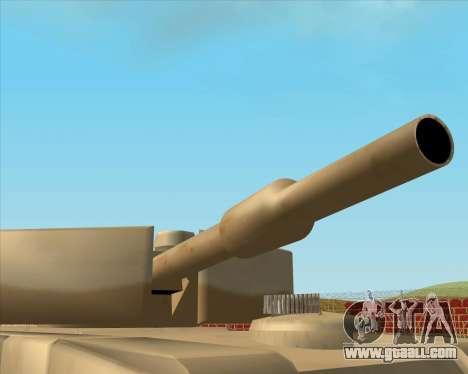 Dozuda.s Primary Tank (Rhino Export tp.) for GTA San Andreas back left view