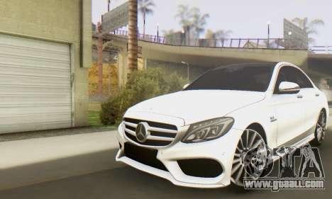 Mercedes-Benz C250 AMG for GTA San Andreas