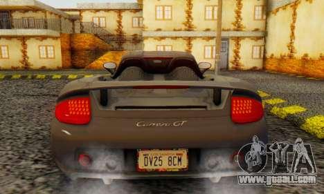 Porsche Carrera GT 2005 for GTA San Andreas right view