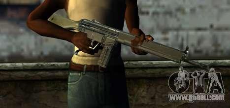 Mexican Army G-3 for GTA San Andreas third screenshot