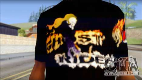 Ghost Rider T-Shirt for GTA San Andreas third screenshot