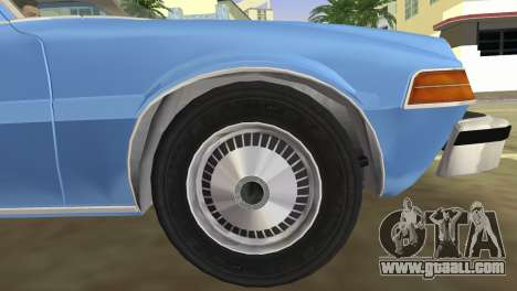 AMC Pacer DL 1978 for GTA Vice City right view