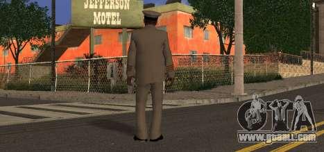 Navy Officer for GTA San Andreas second screenshot
