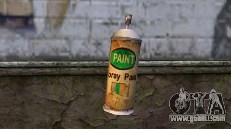 Spraycans from Bully Scholarship Edition for GTA San Andreas second screenshot