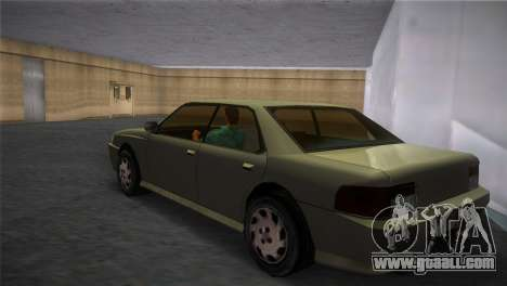 Sultan from GTA San Andreas for GTA Vice City left view