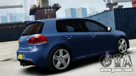 Volkswagen Golf R 2010 for GTA 4 left view