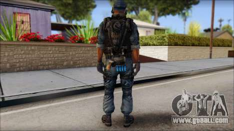 Sami GIGN from Soldier Front 2 for GTA San Andreas second screenshot