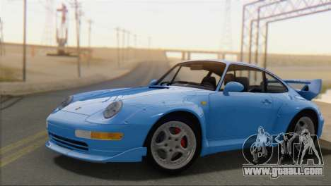 Porsche 911 GT2 (993) 1995 V1.0 SA Plate for GTA San Andreas