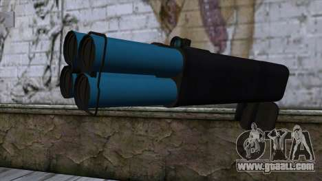 M20 BRS Rocket Launcher for GTA San Andreas