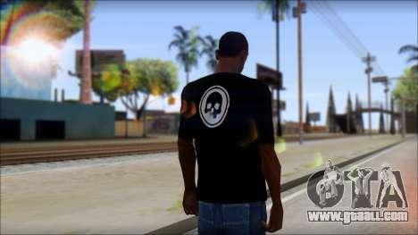 ThreeA T-Shirt for GTA San Andreas second screenshot