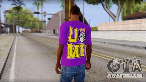 Paises Bajos Sneijder T-Shirt for GTA San Andreas second screenshot
