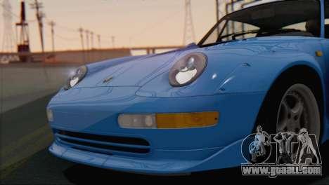 Porsche 911 GT2 (993) 1995 V1.0 SA Plate for GTA San Andreas side view
