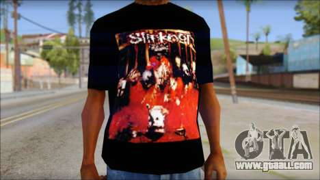 SlipKnoT T-Shirt mod for GTA San Andreas third screenshot