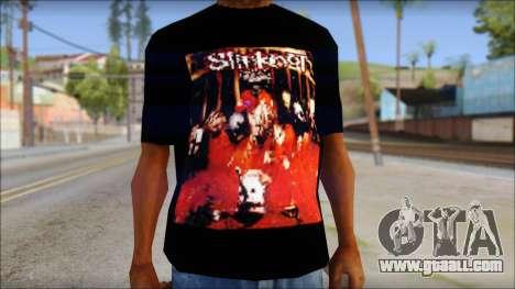 SlipKnoT T-Shirt mod for GTA San Andreas third screenshot