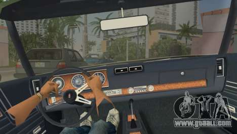 Oldsmobile 442 1970 for GTA Vice City right view
