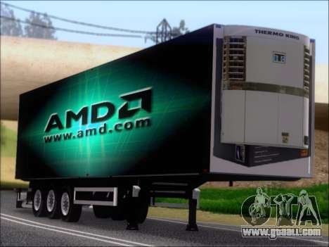 Trailer AMD Phenom X4 for GTA San Andreas