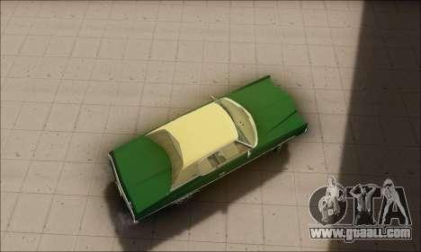 Chevrolet Impala 1972 for GTA San Andreas left view