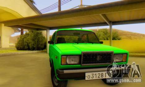 VAZ 2107 Stock for GTA San Andreas right view
