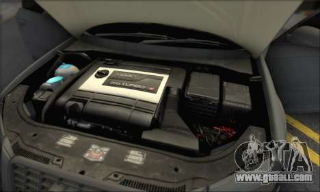 Audi S3 2006 Custom for GTA San Andreas interior
