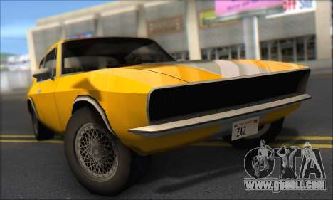 Jensen Intercepter 1971 Fast And Furious 6 for GTA San Andreas left view