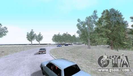 Russian Map 0.5 for GTA San Andreas forth screenshot