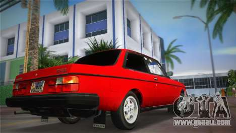 Volvo 242 Turbo Evolution for GTA Vice City left view