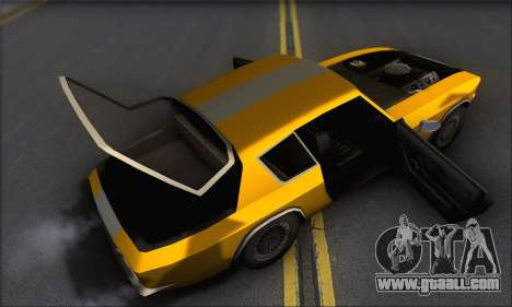 Jensen Intercepter 1971 Fast And Furious 6 for GTA San Andreas inner view