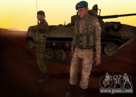 The RAA. Grenadier CRRF for GTA San Andreas