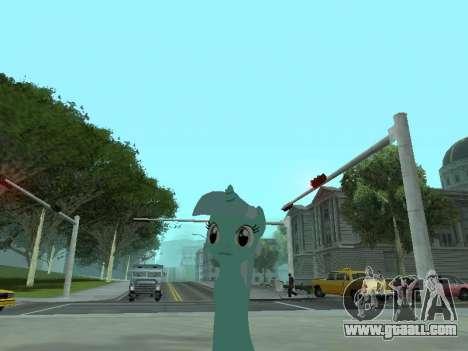 Lyra for GTA San Andreas second screenshot