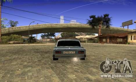 VAZ 2103 for GTA San Andreas back left view