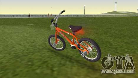 BMX from GTA San Andreas for GTA Vice City left view