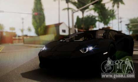 Lamborghini Aventador TT Ultimate Edition for GTA San Andreas right view