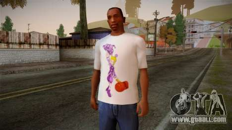Lostsaga T-Shirt for GTA San Andreas