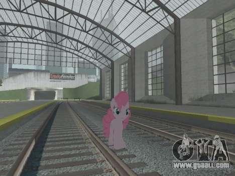 Pinkie Pie for GTA San Andreas sixth screenshot